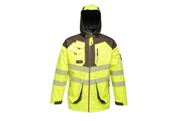 Jacket Hi Viz 5 In 1 Wet Weather
